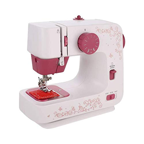 Review Of QIYUE Electric Sewing Machine, Portable Household Sewing Machine 12 Stitches 2 Speed Multi...
