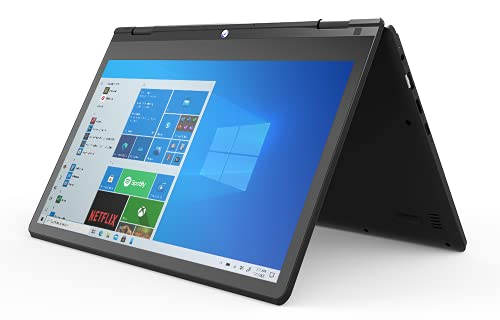 GeoFlex 110 Convertible Laptop and Tablet 11.6-inch HD Touchscreen Windows 10 Intel Celeron 4GB RAM