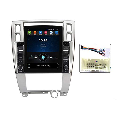 LHWSN Radio de automóvil Double DIN para Hyundai Tucson 2006-2014 GPS Navigation 9.7 Pulgadas Unidad de Cabeza MP5 Multimedia Player Radio Video Receptor con DSP Carplay,Ts100