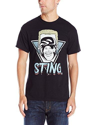 WWE Men's Retro Sting Men's T-Shirt