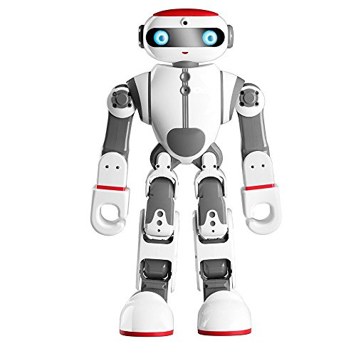 Intelligent Humanoid Robot Dobi Kids Toy Robot Voice/APP Control Toy with Dance/ Yoga/ Storytelling Kid's Suprise Gifts Accompany Friend