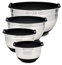 "Top Rated Bellemain Stainless Steel Non-Slip Mixing Bowls with Lids, 4 Piece Set Includes 1 Qt, 1.5 Qt, 3 Qt. &amp; 5 Qt. <a href=""https://www.amazon.com/gp/product/B010TLTBDQ/ref=as_li_qf_asin_il_tl?ie=UTF8&amp;tag=ris15-20&amp;creative=9325&amp;linkCode=as2&amp;creativeASIN=B010TLTBDQ&amp;linkId=3e720e1d72874f9f3dc981a3ef3c0024"" target=""_blank"" rel=""nofollow noopener noreferrer""><span style=""text-decoration: underline; color: #0000ff;""><strong>Buy it on Amazon.</strong></span></a>"