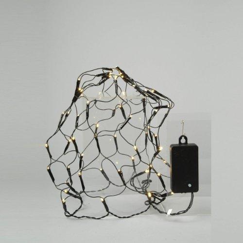 Lumineo Duraweise Batterie LED Buxusnet, aussen Beleuchtung, Durchmesseria, 35 cm 497211