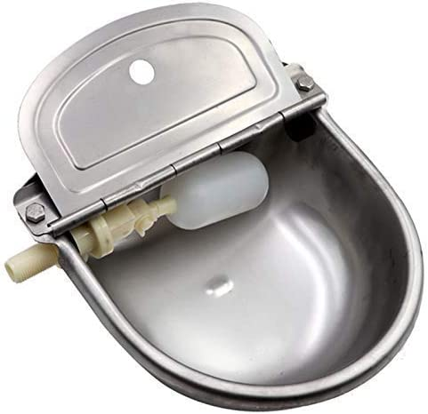 Automatic Waterer Livestock Water Bowl for Horse Cattle Goat Sheep Stainless Steel Auto Dog Water Bowls