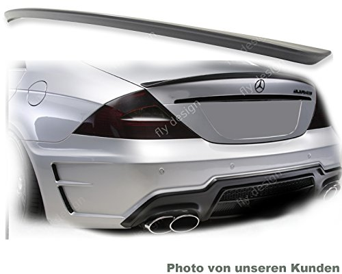 Car-Tuning24 53180998 CLS tuning C219 500 350 AMG type Trunk Lid painted gloss Black tail lip
