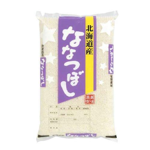 【精米】北海道産 「特A」受賞(昨年) 無洗米(袋再利用) 白米 ななつぼし 5kgx1袋 令和2年産 新米