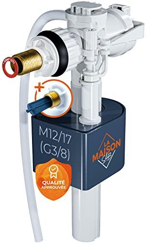 Caisonsab - Flotador de cisterna (listo para usar = filtro + junta + instrucciones incluidas) Mecanismo de calidad premium hasta 1 millón de activación - Grifo de inodoro universal