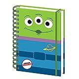 Genuine Disney Pixar Toy Story Alien A5 Wiro Hardback Journal Notebook Paper Note Pad