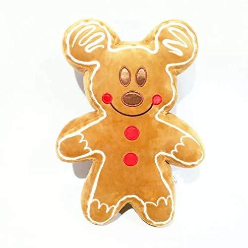 Chunjiao Juguetes Suaves Classic Dibujos Animados Mickey Mouse Gingerbread Man Peluche Doll Toy Doll Regalos de Año Nuevo para niños Juguetes de Peluche