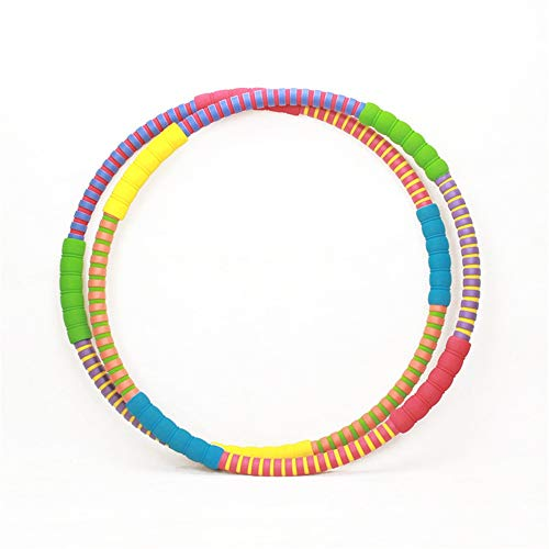Buy Discount Fitness Hula Hoops Hula Hoops for Adults Blats Calories and is Foam Padded Weighted Hula Hoops Perfect for Exercise Slim Waist Weight Loss for Exercise, Dance & Fitness!