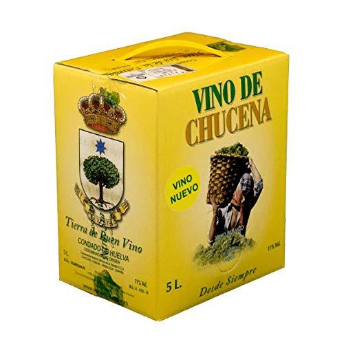 VINO BLANCO NUEVO DE CHUCENA BAG IN BOX 5 LITROS CONDADO DE HUELVA UVA ZALEMA 100%