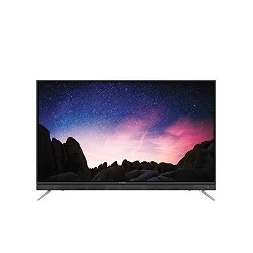 """Schneider Consumer - Televisión Smart tv 43"""" LED43-SCU712K, 4K UHD, Android, Barra de sonido integrada, Negro"""