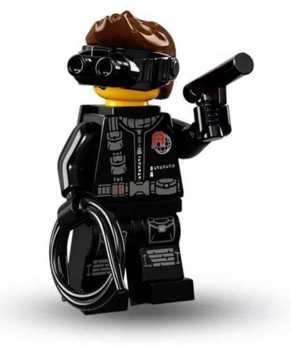 Lego Minifiguren Serie 16 - SPY Minifigur In säcken) 71013