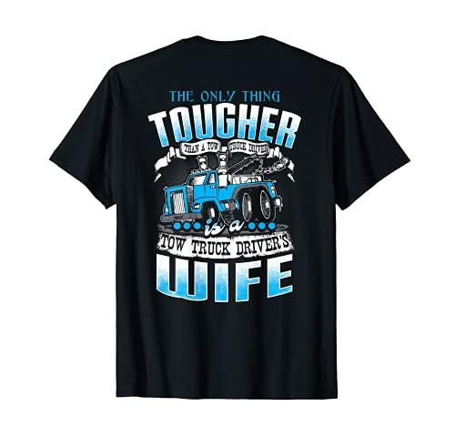 "Operador de camión de remolque, con texto en inglés ""WIFE"" Camiseta"