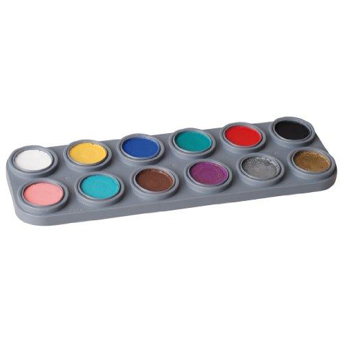 Water Makeup-Palette mit 12 Farben