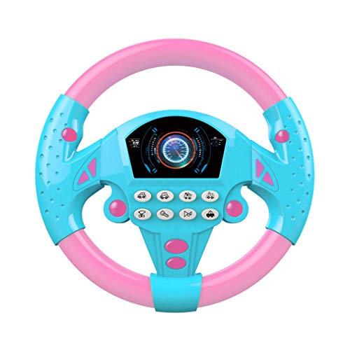 RoxTop Elektrische Spielzeug-Musikinstrumente für Kinder Baby-Lenkrad-Musikalisches Entwickeln von...