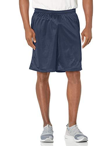 Hanes Sport Men's Pocket Shorts, Navy, Medium
