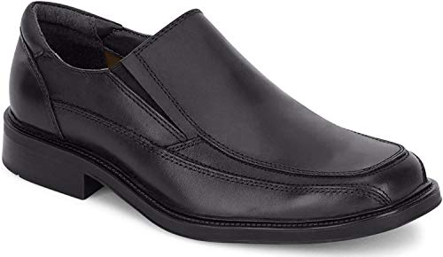 Dockers Men's Proposal Leather Slip-on Loafer Shoe,Black,10.5 M US