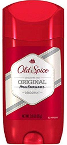 Old Spice High Endurance Deodorant Solid, Original 3 oz (Pack of 11)