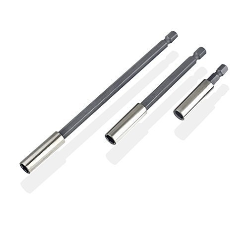 3pc Magnetic Bit Holder Extensions 2-4-6