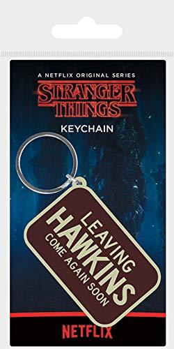 Stranger Things Llavero, 4.5 x 6cm