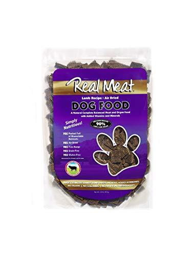Real Meat luftgetrocknetes Hundefutter Lamm, 2 lb,
