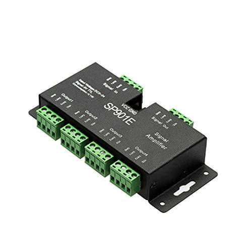 DC5-24V LED Magic kleurverdeler WS2811 Magic Color Bar signaalextender 5-weg SPI signaalversterker SP901