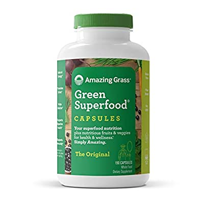 Amazing Grass Organic Wheat Grass Tablets