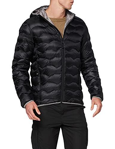 Schöffel Down Jacket Keylong2 - Piumino leggero e caldo da uomo, comodo e traspirante, Uomo, 22728, Nero, 52
