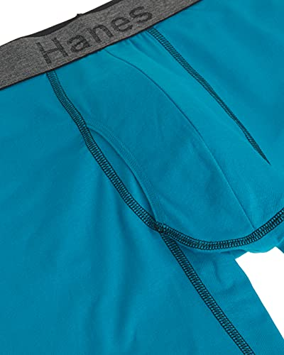 Details about  /Hanes Men/'s 3-Pack Comfort Flex Fit Ultra Soft Long Leg Boxer Brief