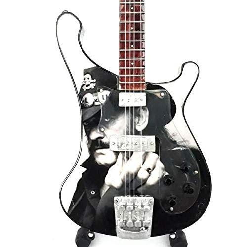 Mini guitarra de colección réplica de artistas de los años ochenta