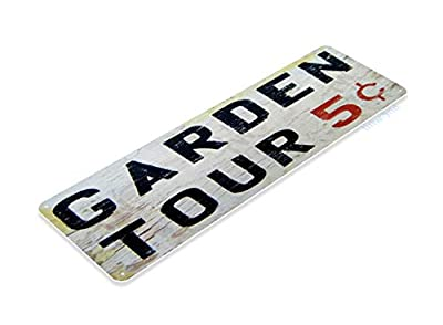 Tinworld Tin Sign Garder Tours Rustic Garden Metal Sign Decor Kitchen Cottage Farm B148