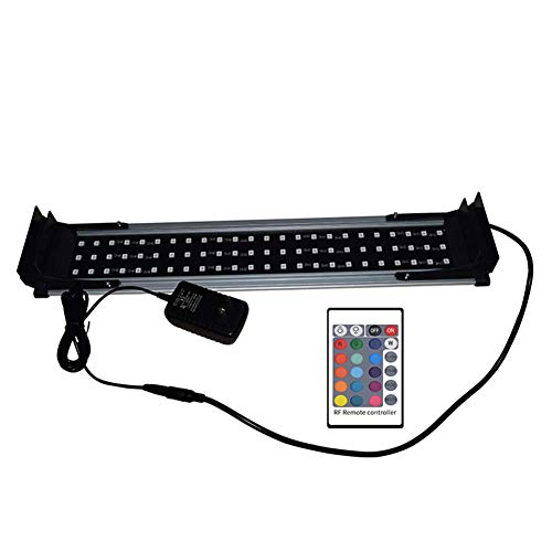 Aquariumtank-decoratie voor aquarium, LED, voor aquarium, aquarium, aquariumverlichting, zoetwatervis, volledig spectrum, 10 W, aquariumlicht 13 W