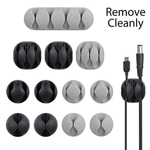 Avantree Pack de 12 Clips Duraderos para Cable