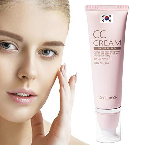 Crema CC Cream - Producto Premium - Crema Coreana - Hidratante - Factor Protector Solar...