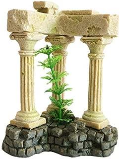 Aquatropico Roman Column Greek Temple Ruins Aquarium Decoration Remains Aquatic