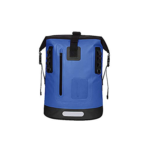 Dfghbn Mochila Impermeable Mochila al Aire Libre Bolsa de Deportes Impermeable Bolsa de montañismo Senderismo Mochila Deportes acuáticos (Color : Azul, Size : 30L)