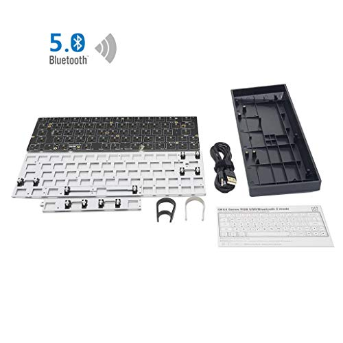 BIlinli GK64XS Hot Swap Programable Bluetooth...