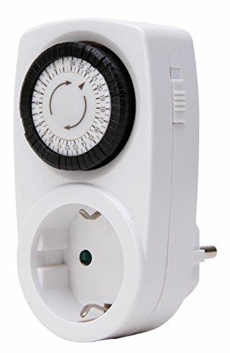 Kopp 195302071 Zeitschaltuhr mechanisch Tag weiß