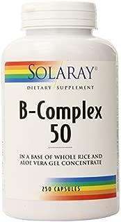 Solaray B-Complex 50 -- 250 Capsules by Solaray