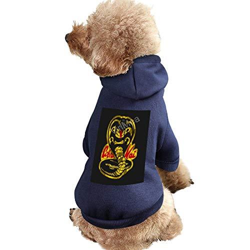 Pet Clothes Cobra Kai Pet Apparel Costumes Dog & Cat Hoodie, Blue