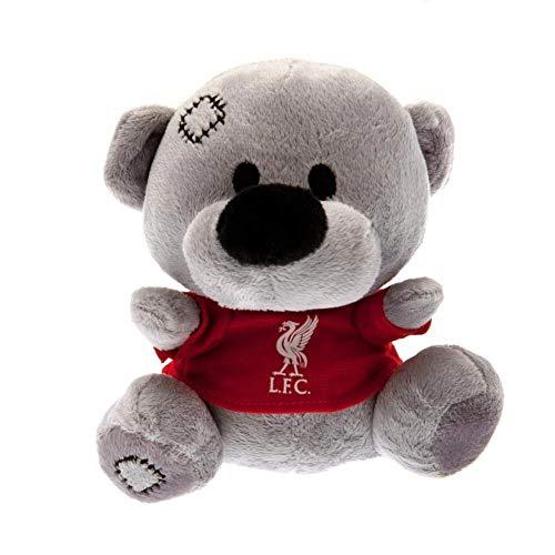 Liverpool F.C. Liverpool FC Timmy Bear Teddy, One Size, Grey/Red