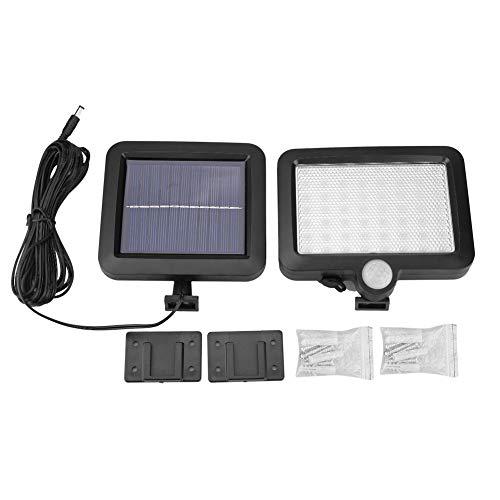 Cocoarm Solar Lights Zonne-aangedreven sensor, licht op zonne-energie voor buiten, 3W, waterdicht, lantaarn, indoor tuin, achtertuin, buitenverlichting