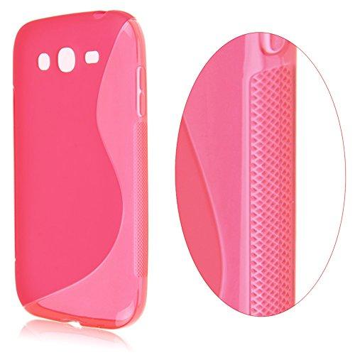Cover Gel Tpu S-Line Samsung Galaxy Grand Neo Plus Colore Rosa