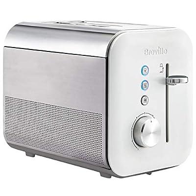 Breville VTT687 4 Slice High Gloss Toaster, White