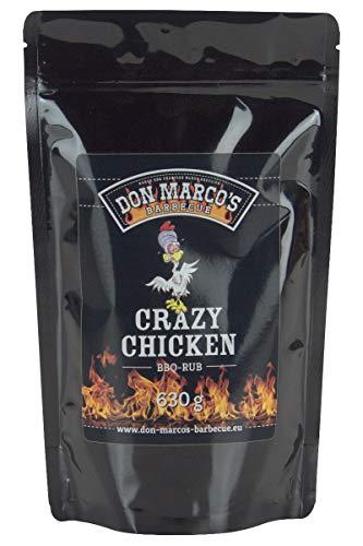 Don Marco's Barbecue Rub Crazy Chicken 630g im Nachfüllbeutel, Grillgewürzmischung