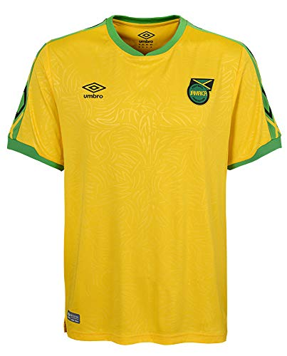 Umbro 2018-2019 Jamaica Home Football Soccer T-Shirt Trikot
