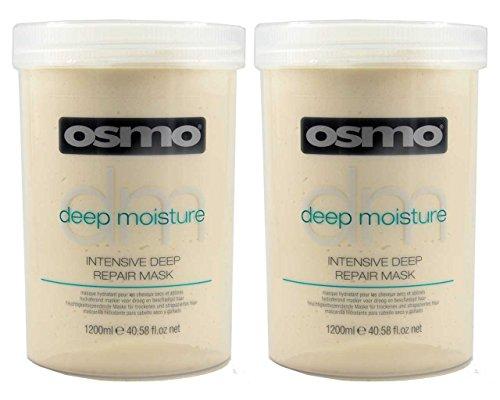 2x OSMO Intensive Deep Repair Mask Trockenes Strapaziertes Haar 1200ml