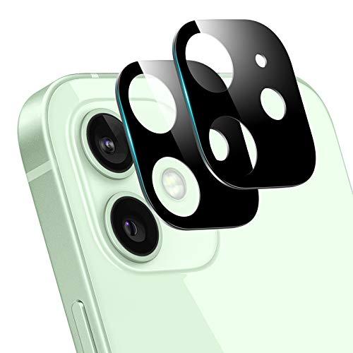 [2 Stück] Kamera Panzerglas Schutzfolie für iPhone 12 Mini (5.4'') - 9H Härte Kameraschutz Kratzfester Glasfolie Schlagfester Panzerfolie Ultraklar Linsen Schutzglas Kameraschutzfolie