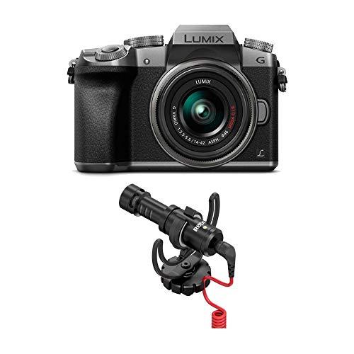 Panasonic LUMIX G7 4K Mirrorless Camera with Rode VideoMicro Compact On-Camera Microphone
